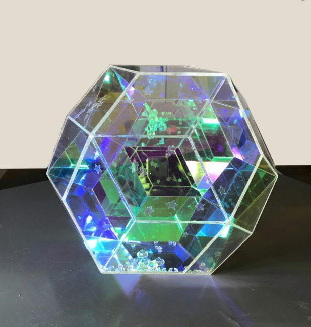 triacontahedron john foster, emerging, popular, sculptures