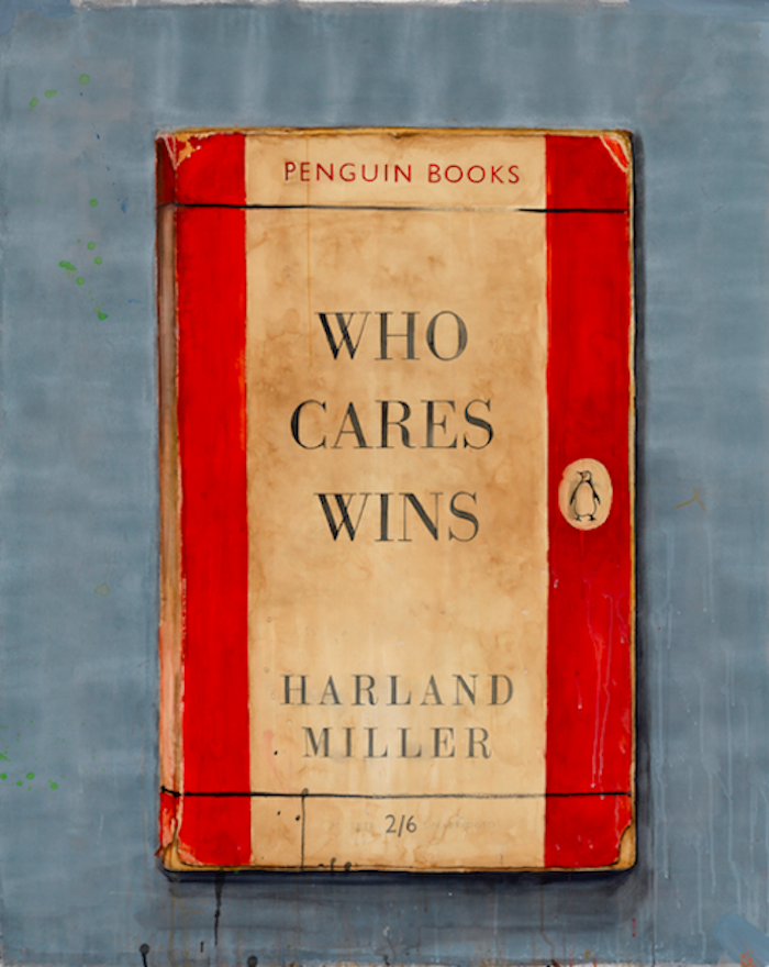 Who Cares Wins by Harland Miller