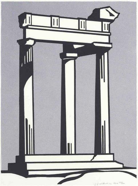 Roy Lichtenstein: Early Career, Roy Lichtenstein: Early Career Works