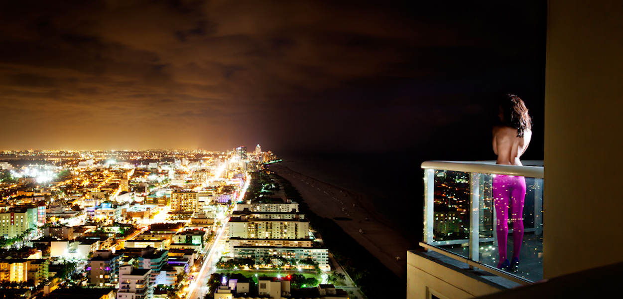Glittering City by David Drebin