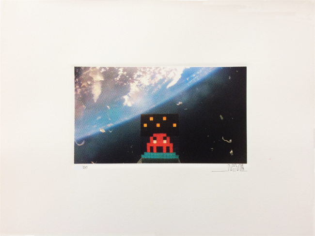 Art4Space 2D by Invader