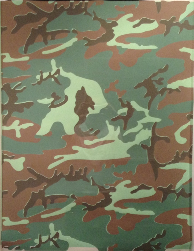 Camouflage Unique by Andy Warhol