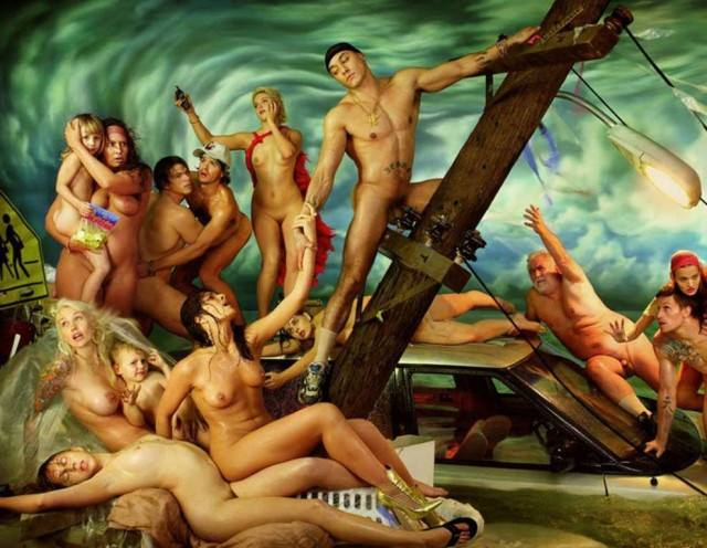 Deluge David LaChapelle, Deluge by David LaChapelle