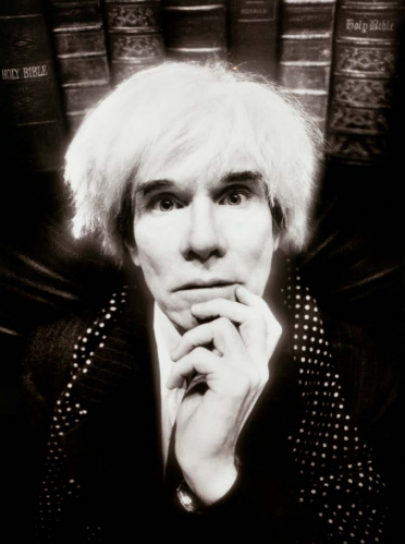 Andy Warhol: Last Sitting, November 22 by David LaChapelle