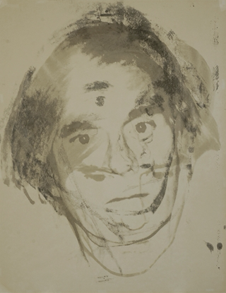Andy Warhol Self Portrait Screen Print