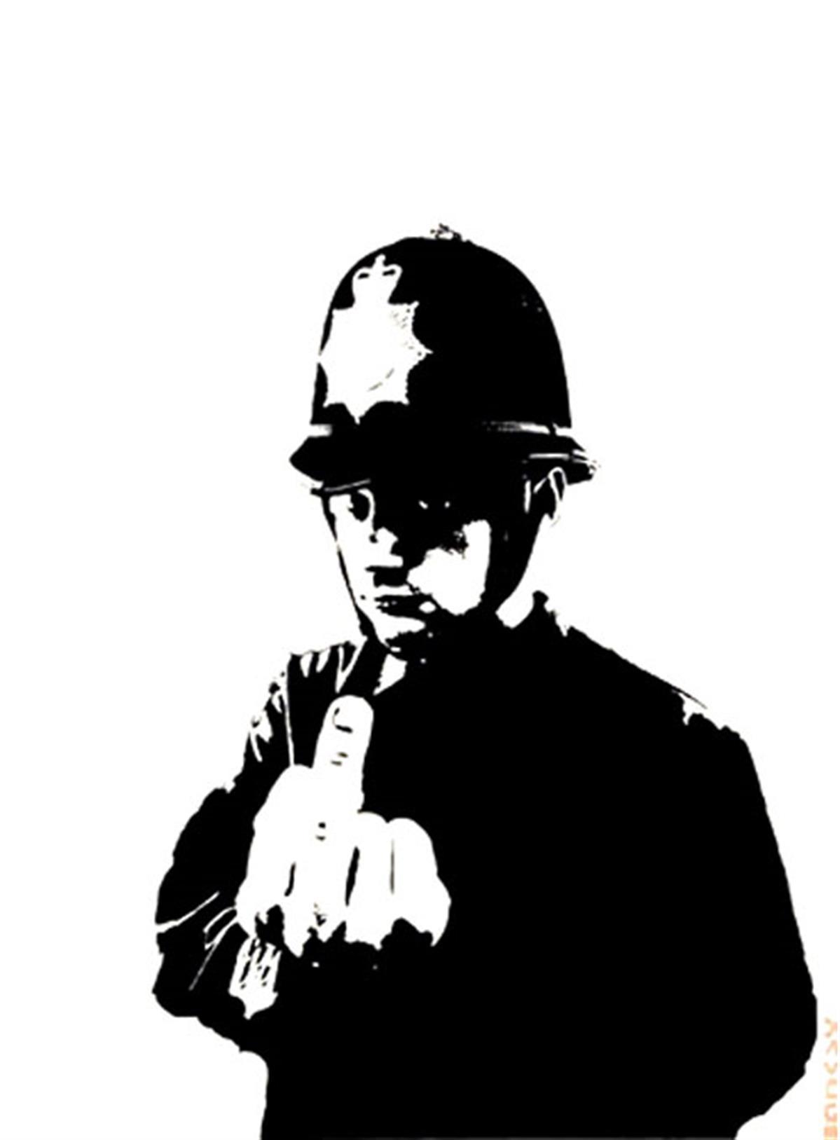 Rude Copper by Banksy