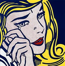 Roy Lichtenstein's Crying Girl, Roy Lichtenstein's Crying Girl