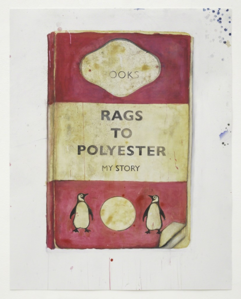 Harland Miller Rags to Polyester
