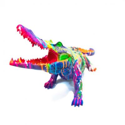 Pop Crocodile 2 By Richard Orlinski
