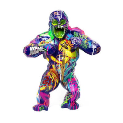 Pop Wild Kong By Richard Orlinski