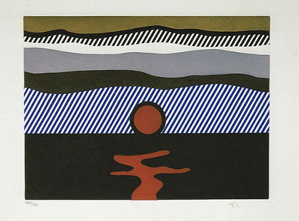 De Nouveau au dessus de Denver by Roy Lichtenstein