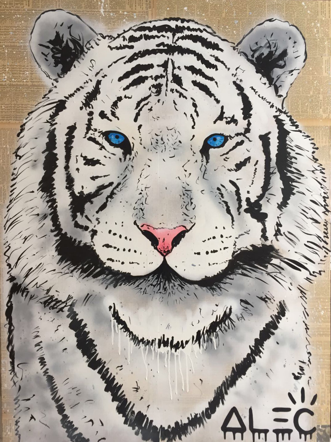 White Tiger by Alec Monopoly