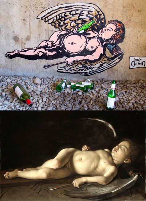 Drunk Cupid by Herr Nilsson