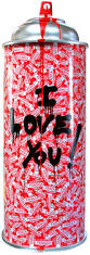 i love you spray can