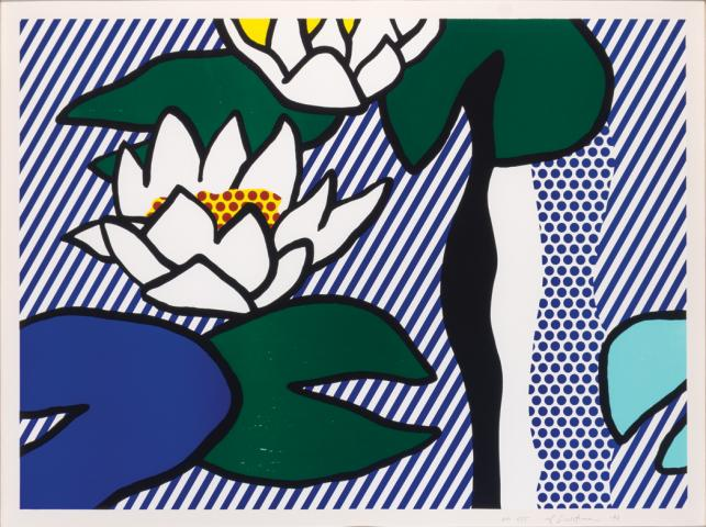 Les Nymphéas by Roy Lichtenstein