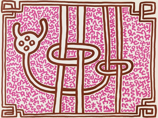 Chocolate Buddha by Keith Haring (Complete Set)