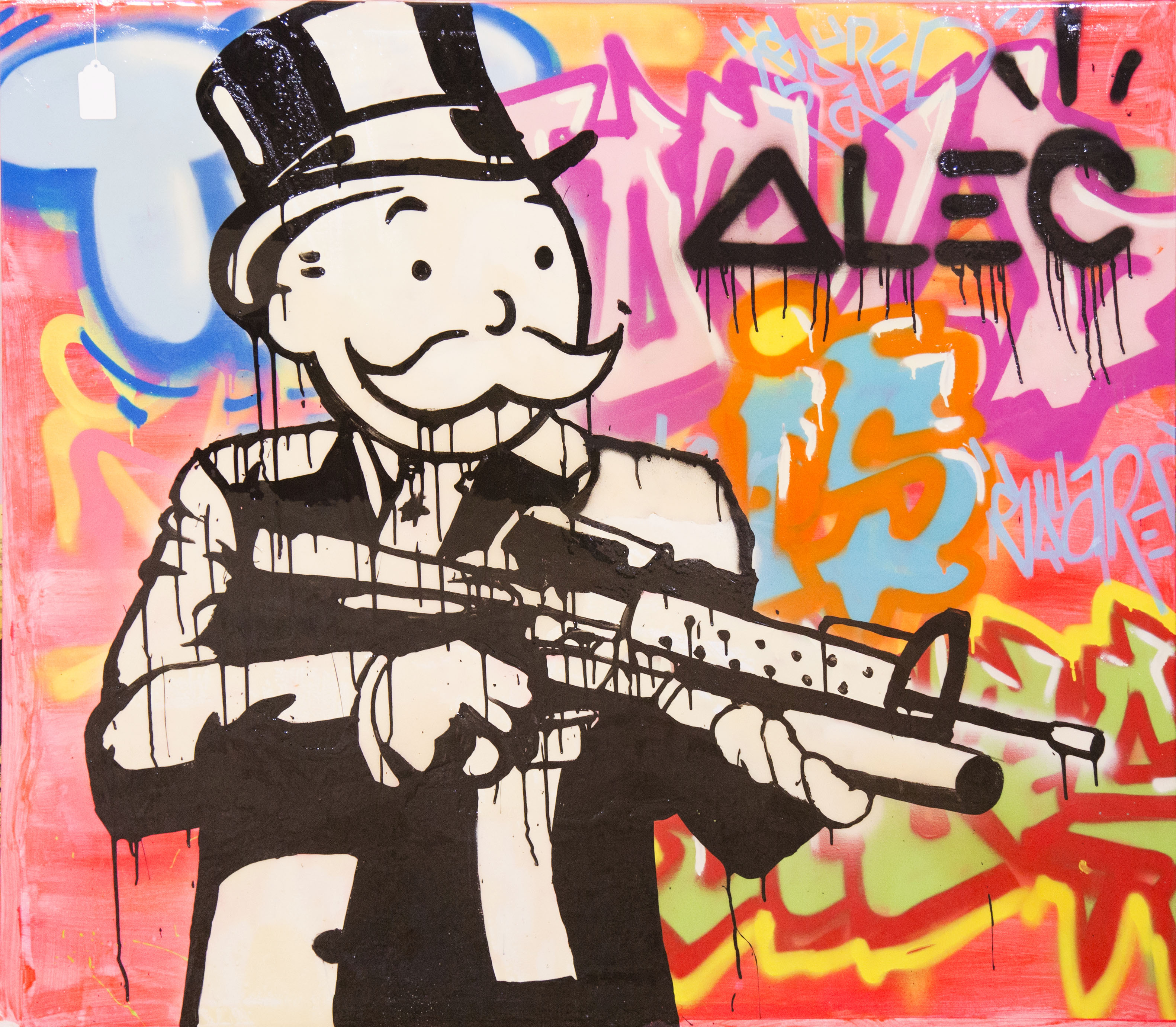 Assault Rifle by Alec Monopoly