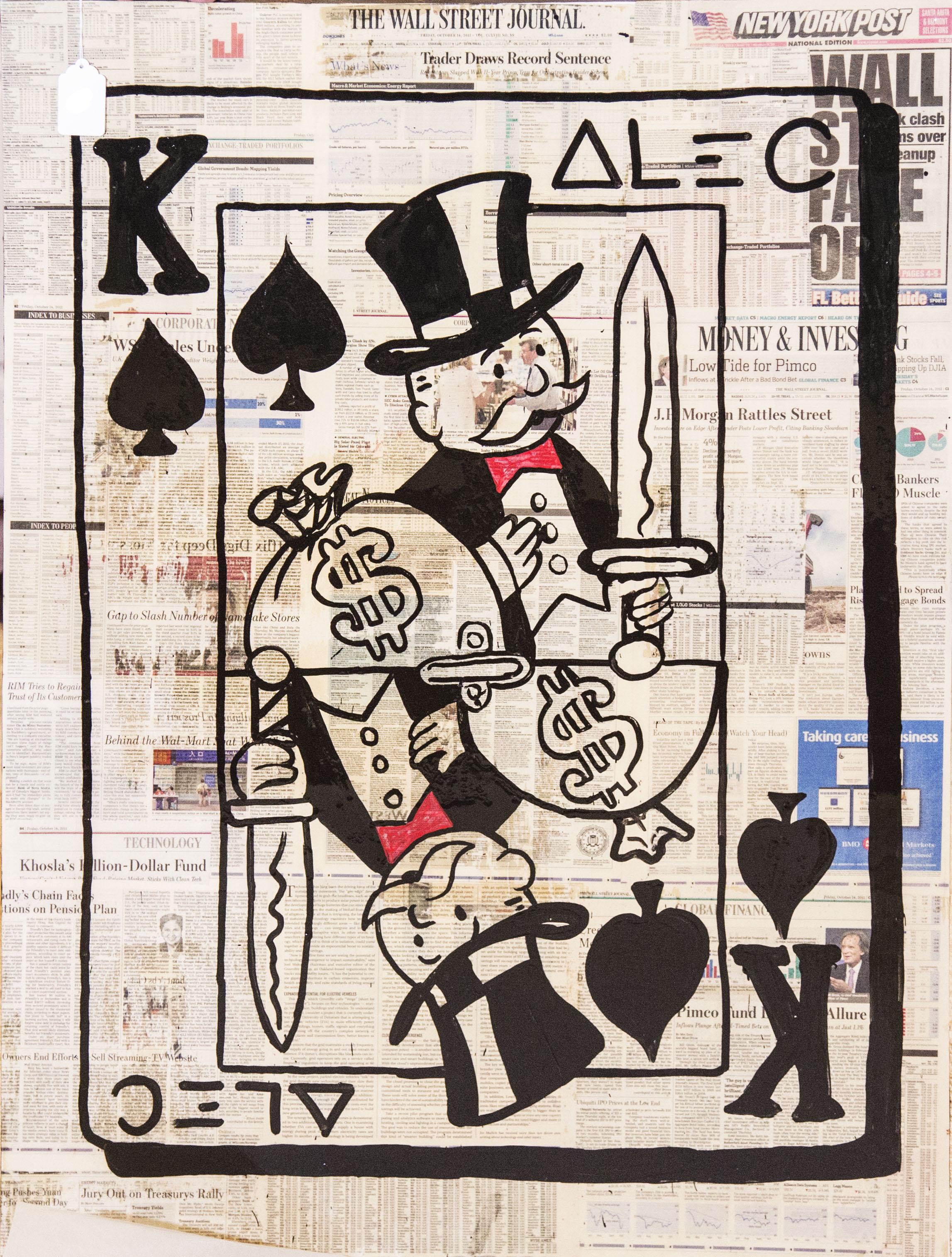 King Spade by Alec Monopoly