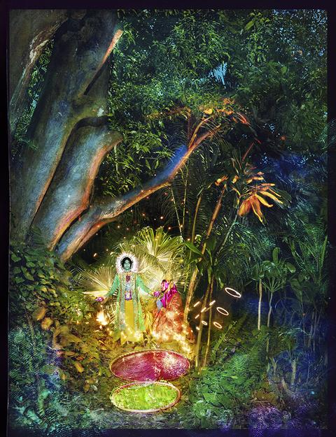 Jesus and Buddah Under a Tree by David LaChapelle