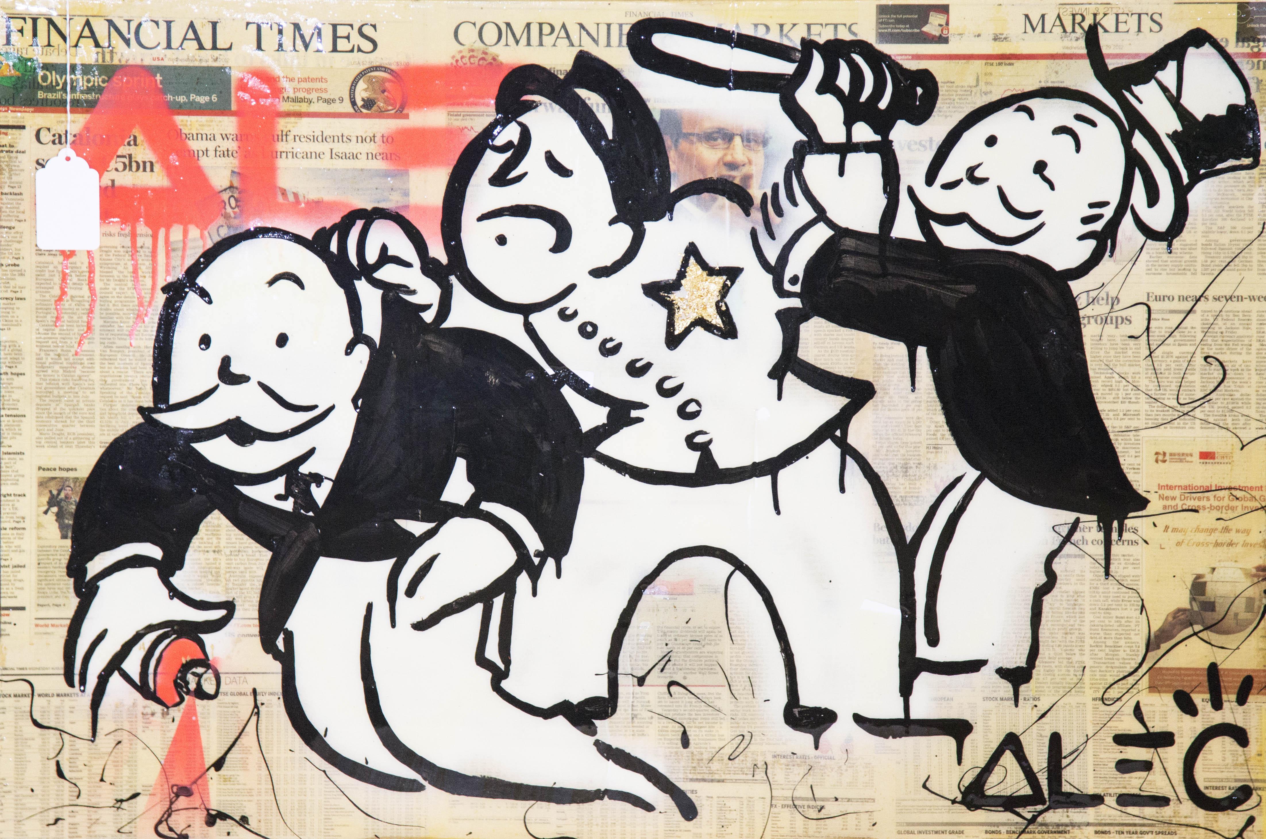 Bobby Monopoly by Alec Monopoly