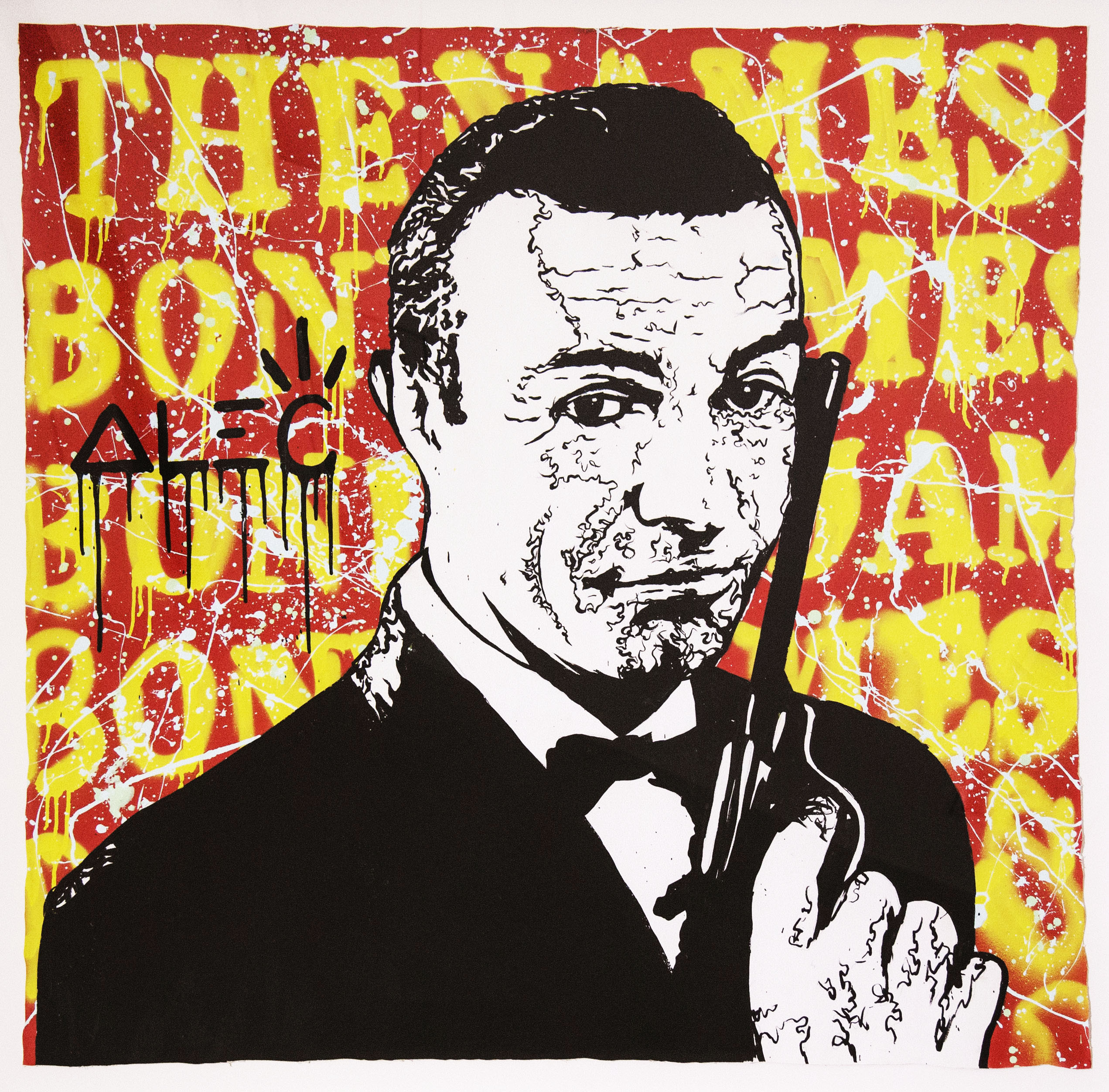 James Bond by Alec Monopoly