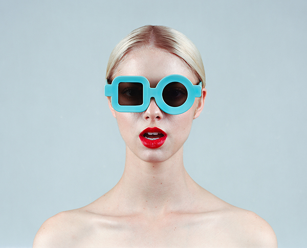 Red, Blonde and Blue by Tyler Shields