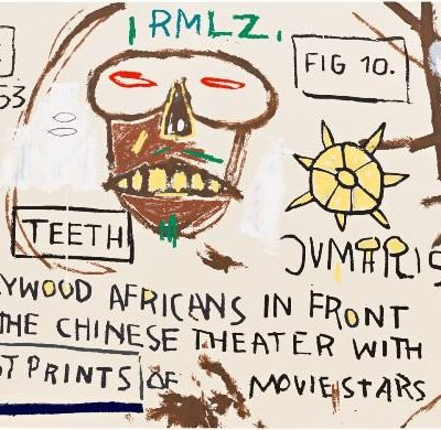 Basquiat Hollywood Africans Untitled Head by Jean-...