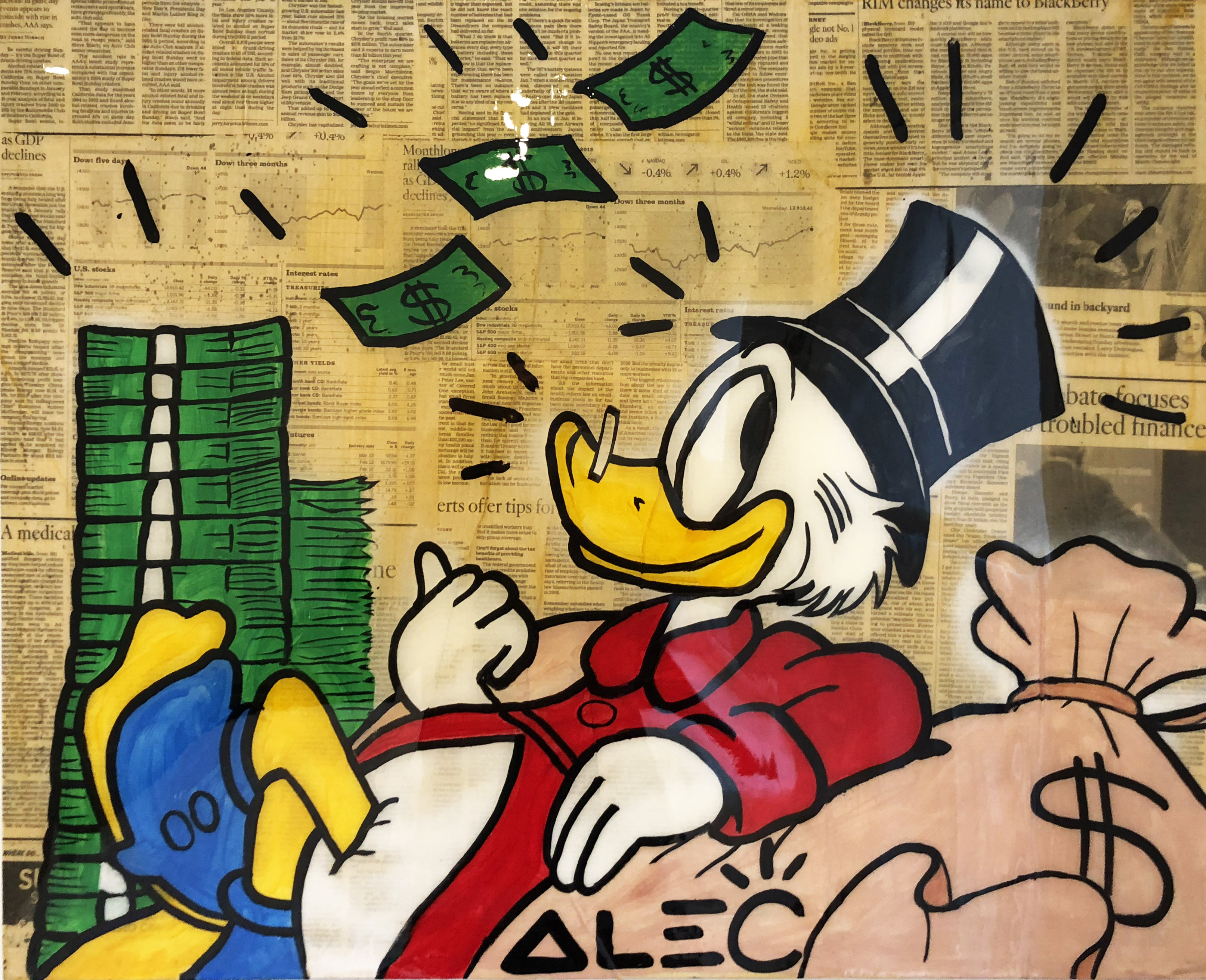 Scrooge Cash by Alec Monopoly