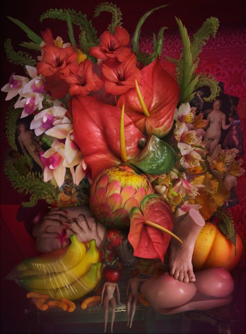 The Lovers by David LaChapelle