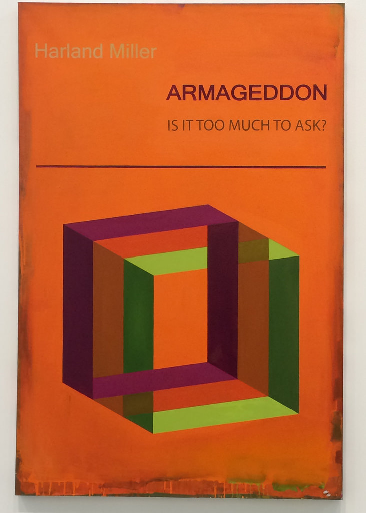 Armageddon: Is It Too Much To Ask? By Harland Miller