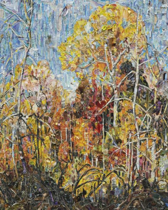 Autumn: Orillia, after Frank Carmichael by Vik Muniz