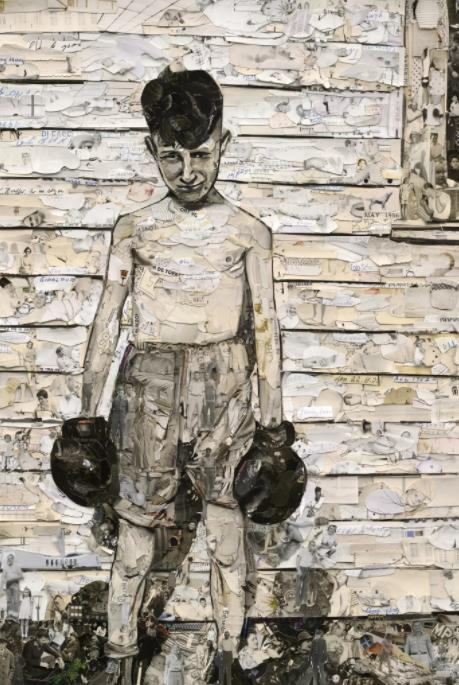 Boxer by Vik Muniz