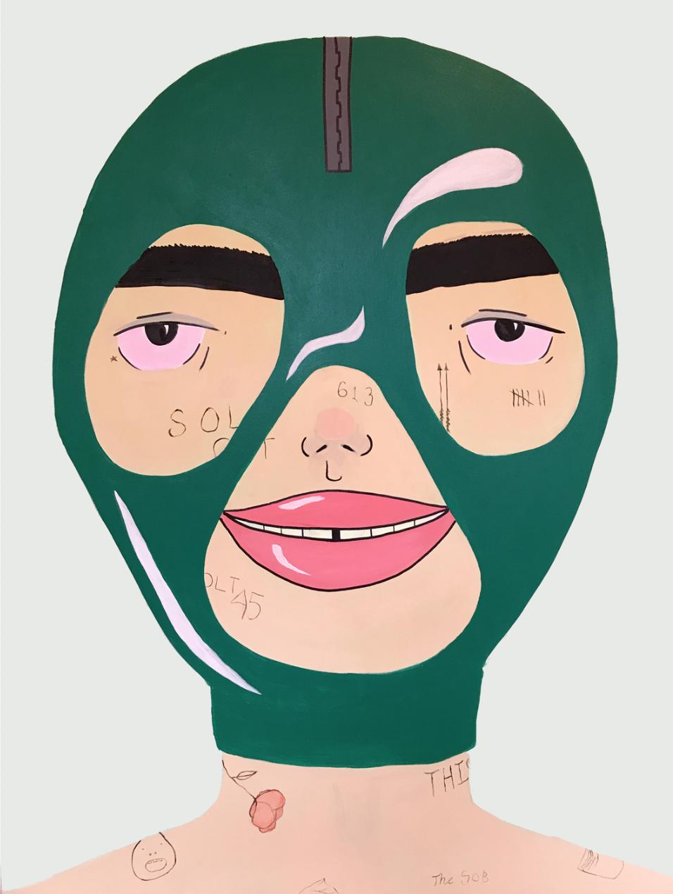 Mask 2 by Ben Evans