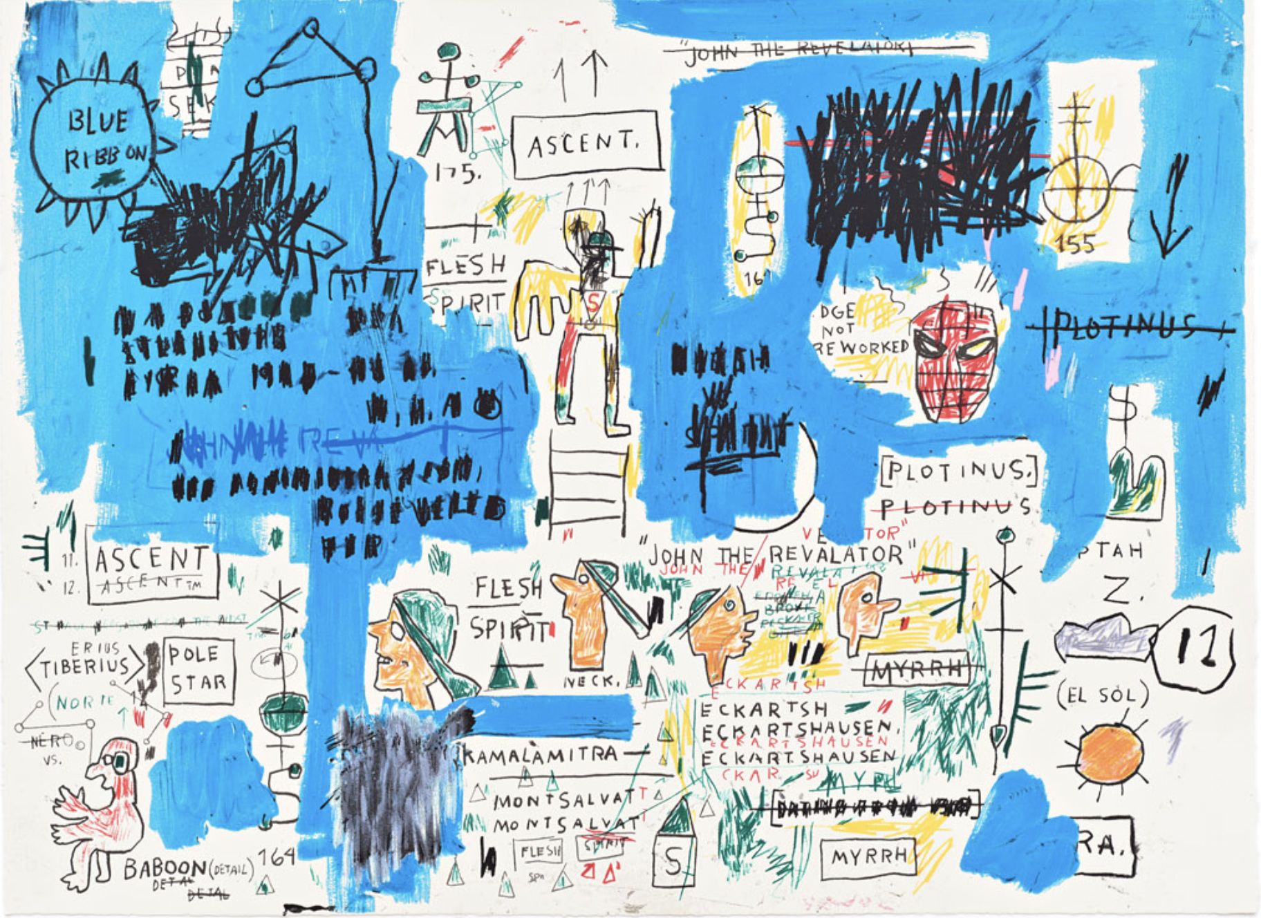 Ascent by Basquiat