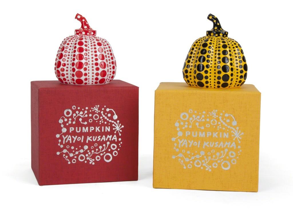 Pumpkins by Yayoi Kusama
