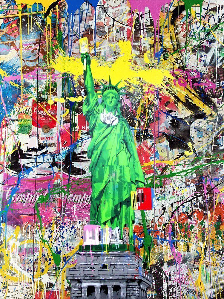 Liberty by Mr. Brainwash
