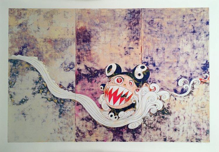 727 SILKSCREEN by Takashi Murakami