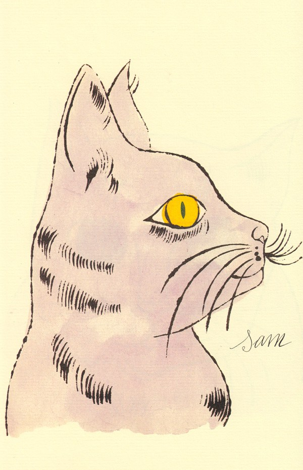 Cats Named Sam IV.58 by Andy Warhol