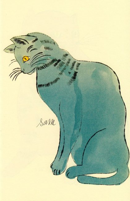 Cats Named Sam IV.60 by Andy Warhol