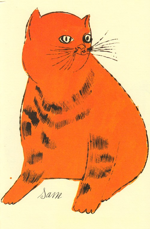 Cats Named Sam IV.61 by Andy Warhol
