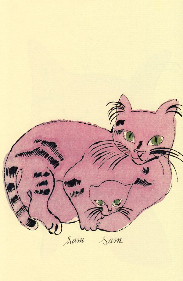 Cats Named Sam IV.62 by Andy Warhol