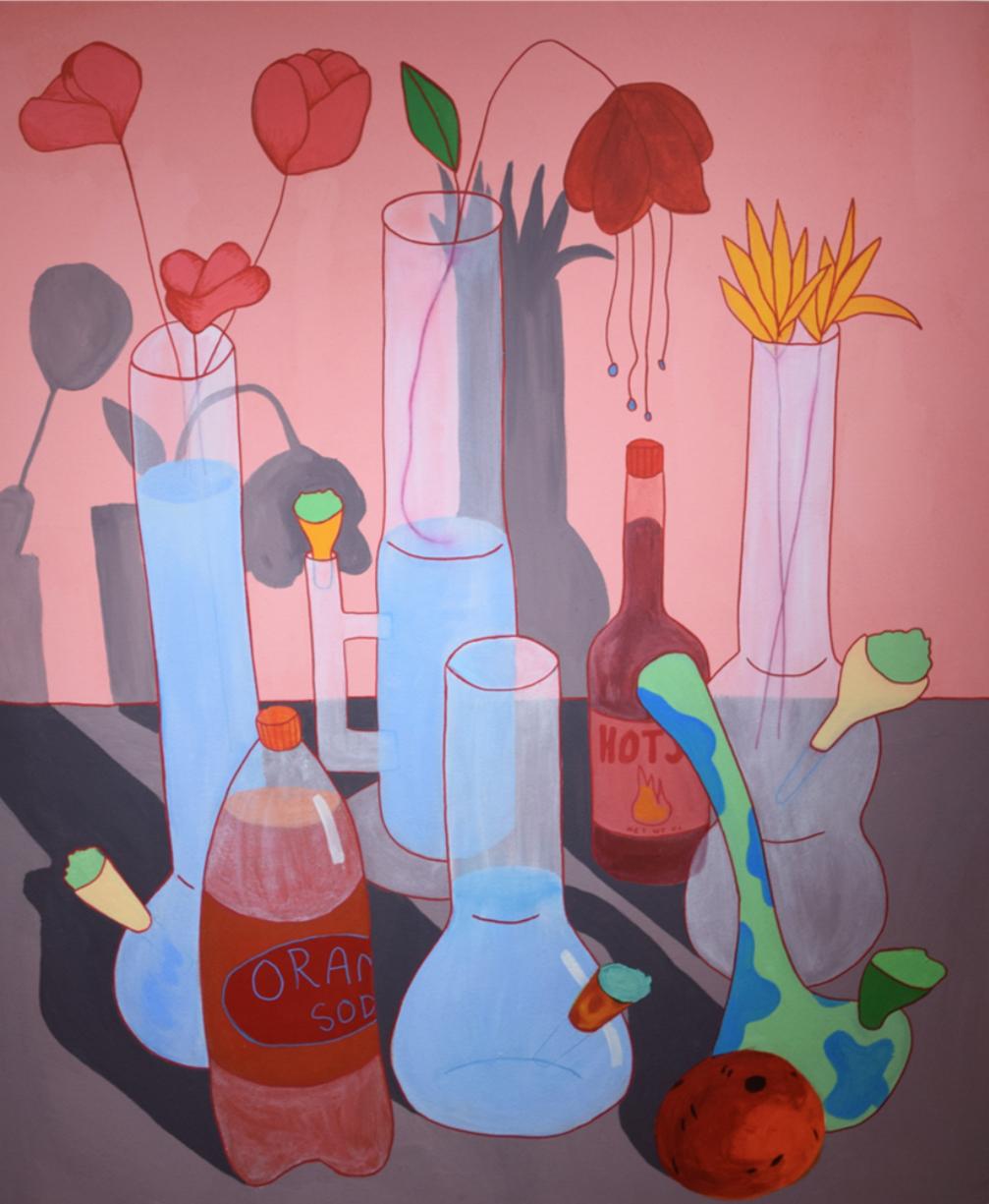 Vase Still Life by Ben Evans