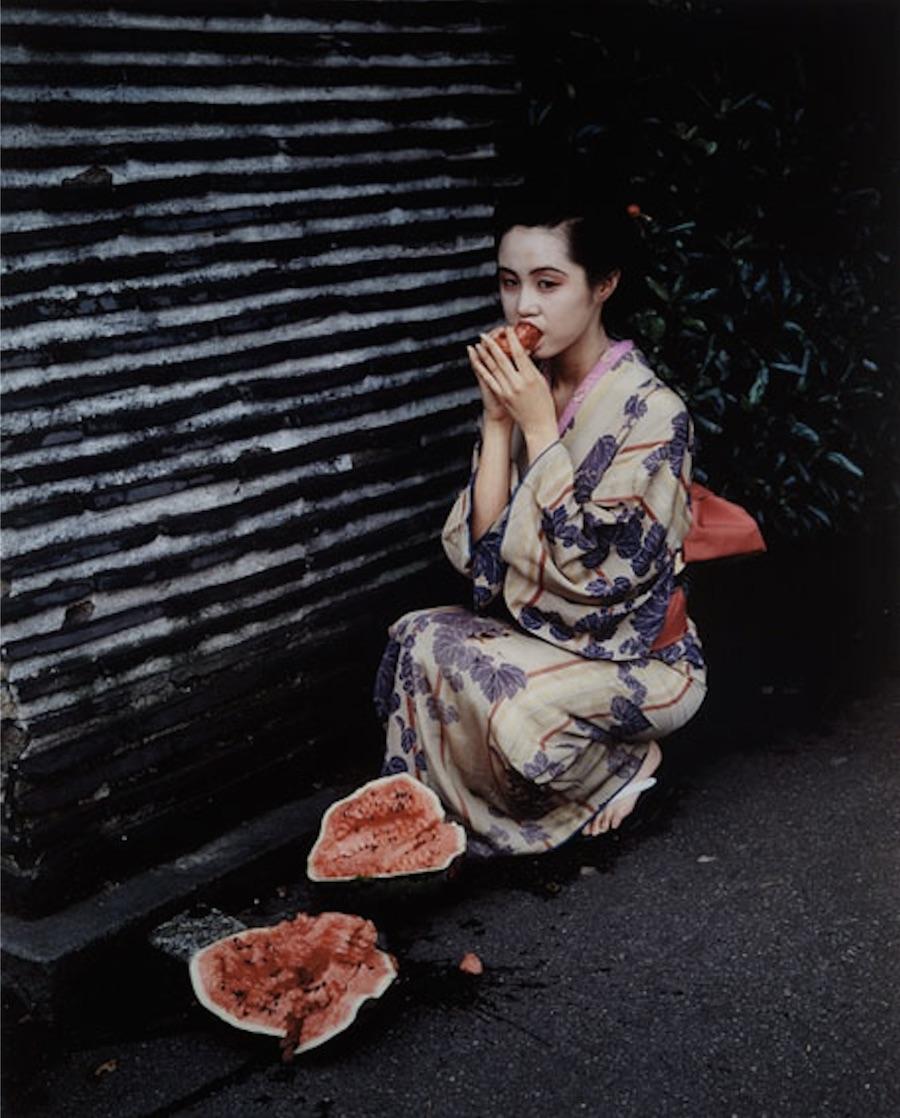 Untitled, from Colourscapes by Nobuyoshi Araki