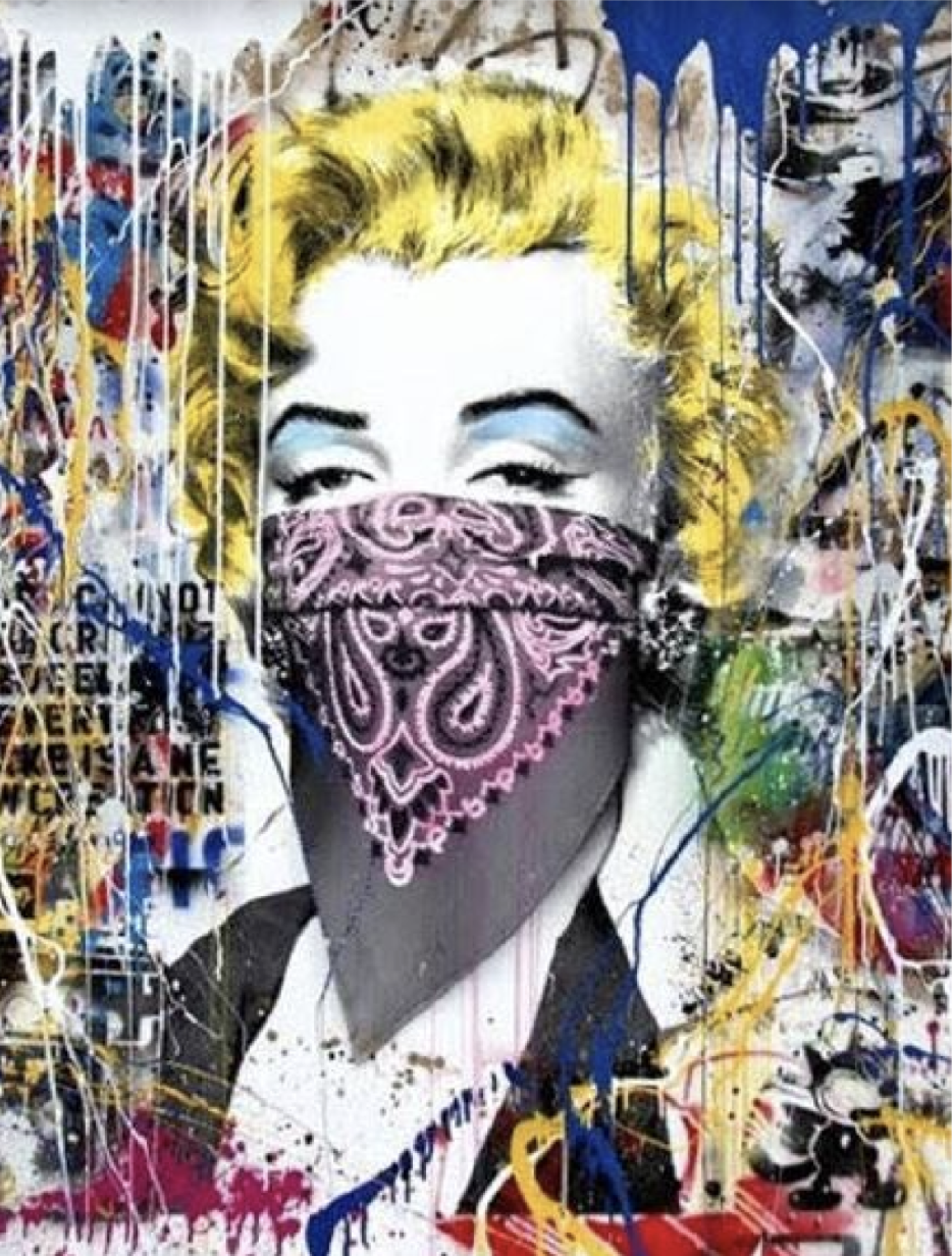 Marilyn Monroe by Mr. Brainwash