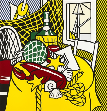 roy-lichtenstein-still-life-with-lobster
