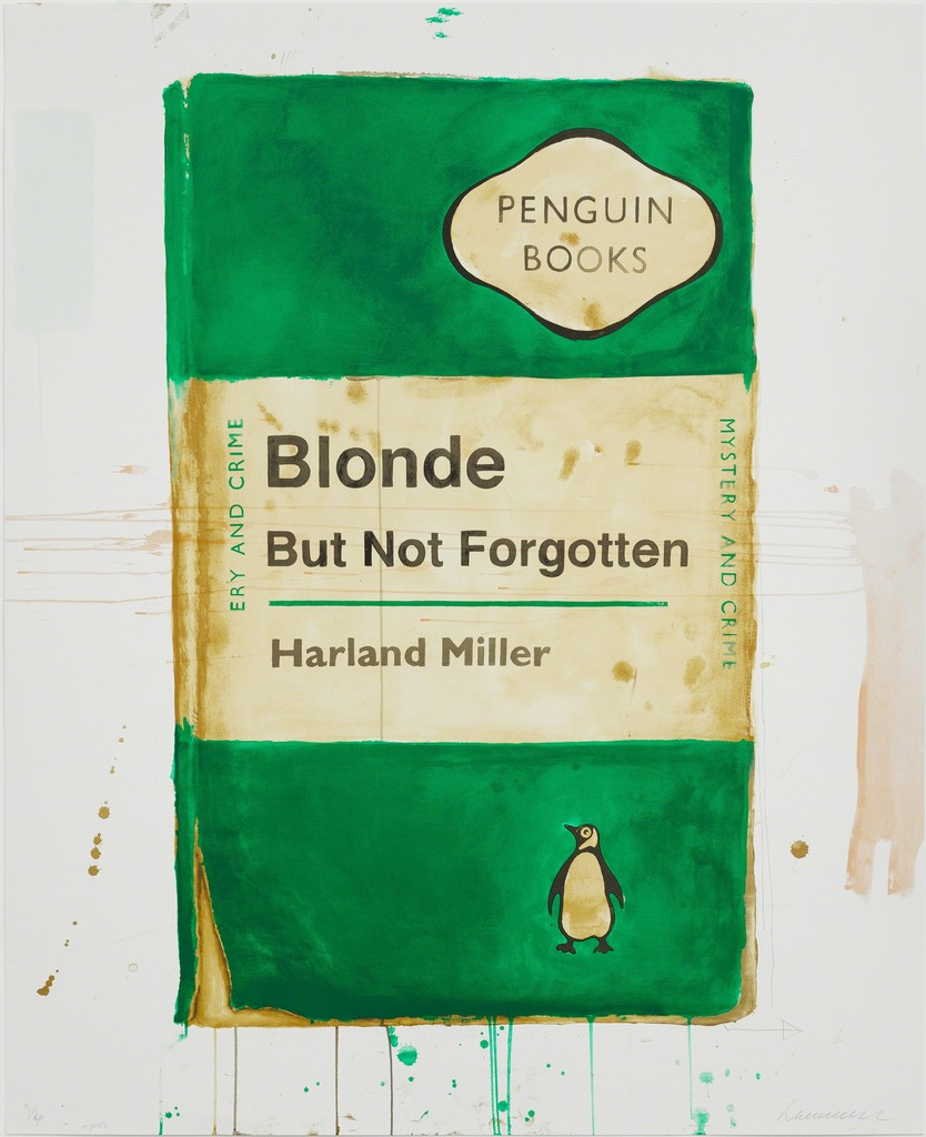 Blonde But Not Forgotten by Harland Miller