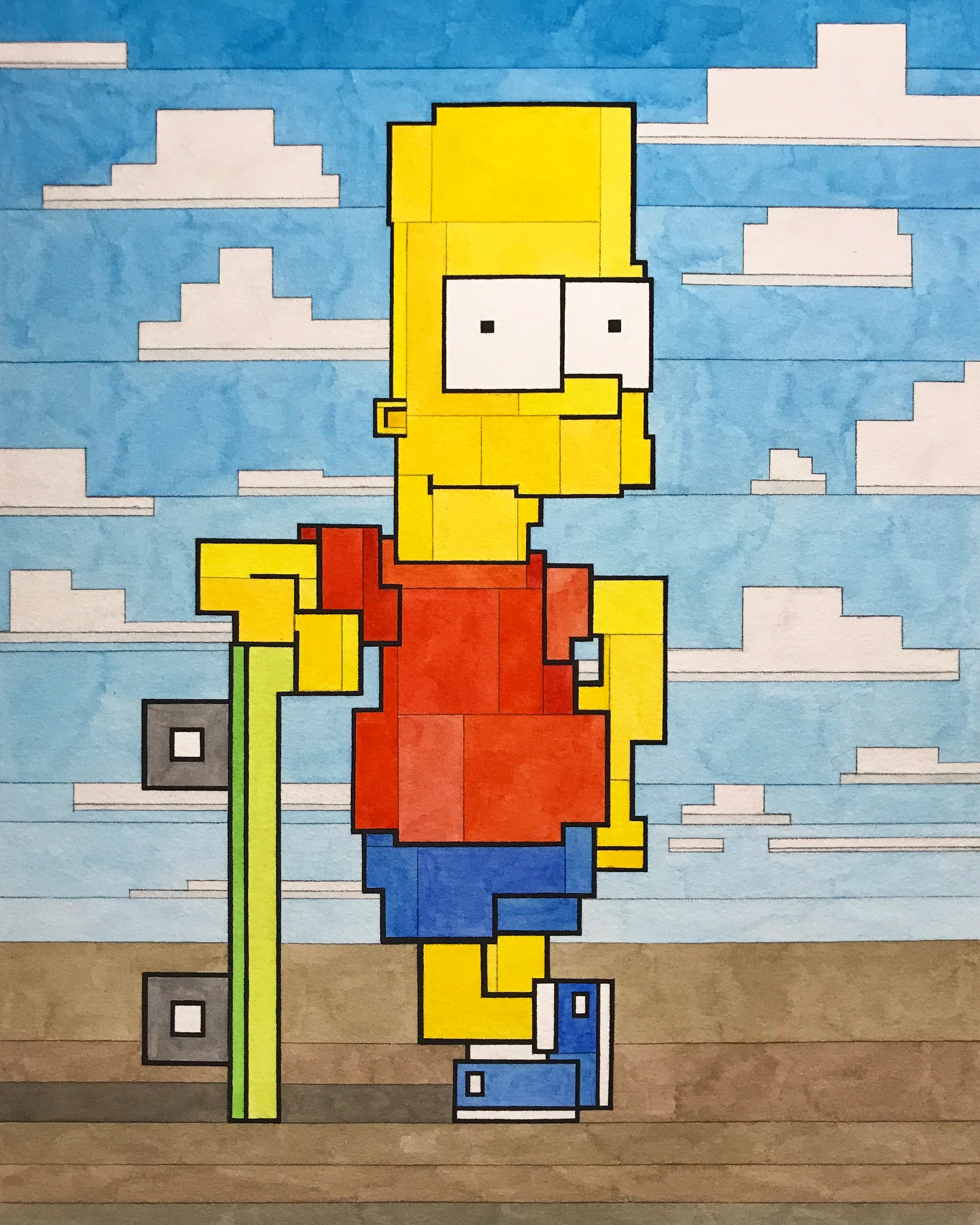 Lister – Bart Simpson