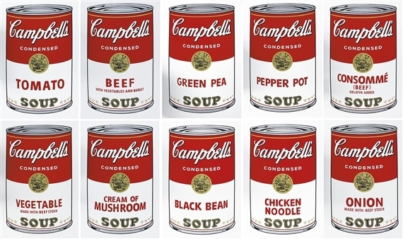 Campbell's Soup I Portfolio by Andy Warhol