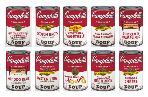 Campbell's Soup II Portfolio by Andy Warhol