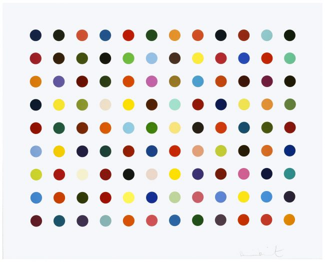 Damien Hirst, Connecting the Dots: From Seurat to Hirst
